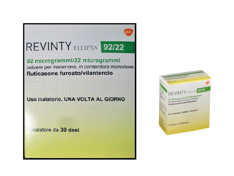 Revinty Ellipta: indicazione, dosaggio, come assumerlo