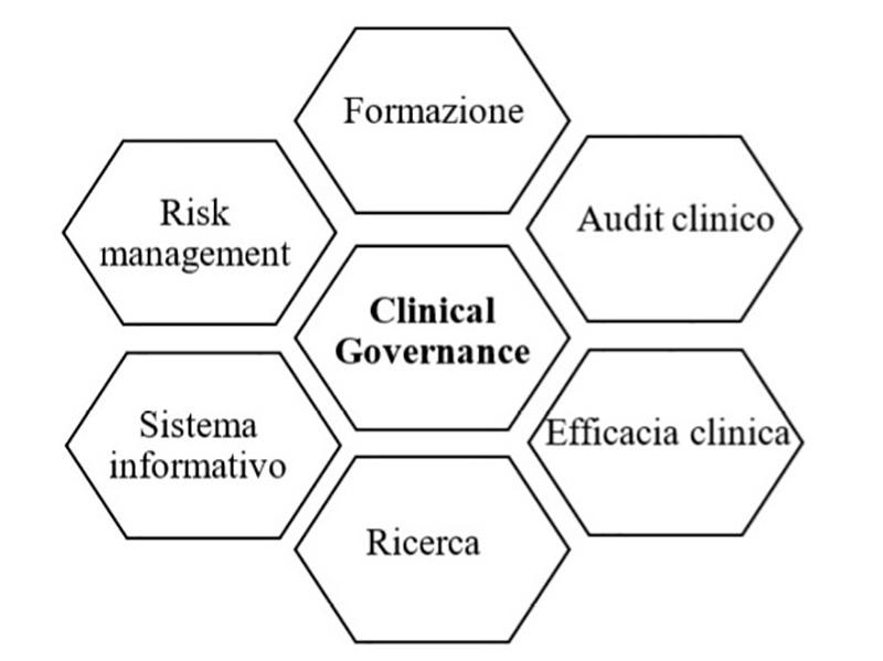 Componenti essenziali del governo clinico, Moro 2012.