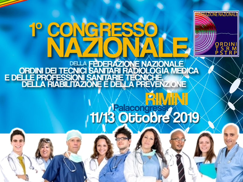 Professioni Sanitarie: primo congresso TSRM PSTRP al Palacongressi di Rimini!