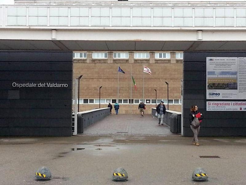 Infermiere, OSS e paziente feriti: crollo all'ospedale Valdarno!