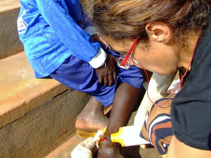 Angela, l'Infermiera Africana. Storia di una assistenza al limite!