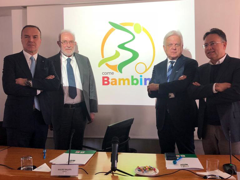 B come Bambini, la Serie B per l'accoglienza negli ospedali pediatrici.