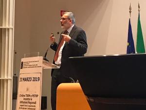 Alessandro Beux, presidente Federazione Nazionale Ordine TSRM - PSTRP. Traghetterà a Rimini 19 professioni sanitarie fino a farle confluire definitivamente in un unico Ordine.