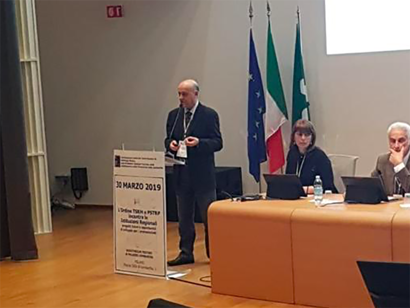 Angelo Mastrillo, referente Università del CONAPS e segretario nazionale della Conferenza Corsi di Laurea delle Professioni Sanitarie.