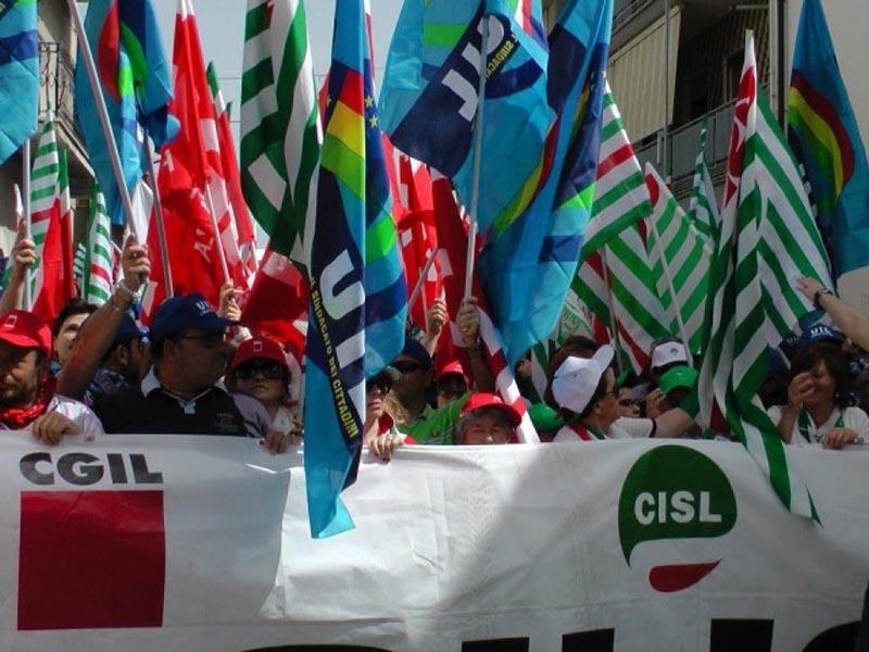 La protesta dei sindacati non ascoltata da Aris e Aiop
