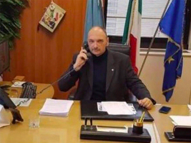 Giuseppe Alviti, Presidente Nazionale dell'Assocazione Guardie Particolari Giurate.