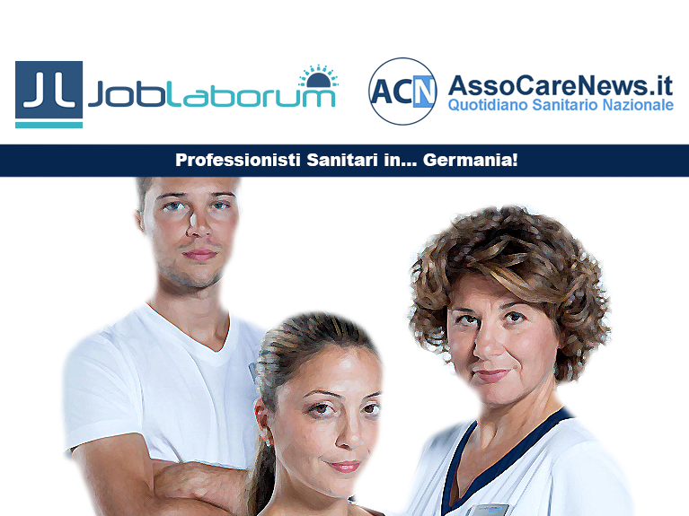 Professionisti Sanitari in Germania: accordo tra JobLaborum e AssoCareNews.it.