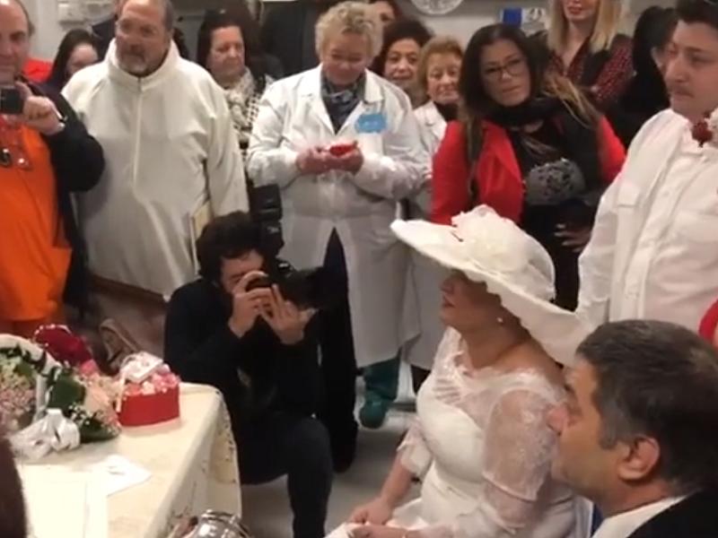 Leonilde Giordano, sposa nonostante i tumori in fase terminale!
