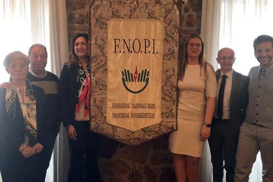 Arriva il drappo della FNOPI: per rappresentanze e eventi istituzionali.