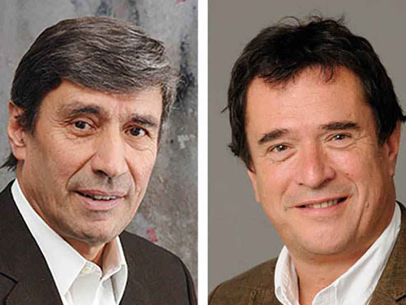 Gérard Kouchner e Nicolas Bohuon, proprietari di Nurse24.it.