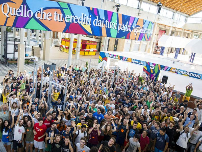 Infermieri al Meeting della Salute di Rimini.