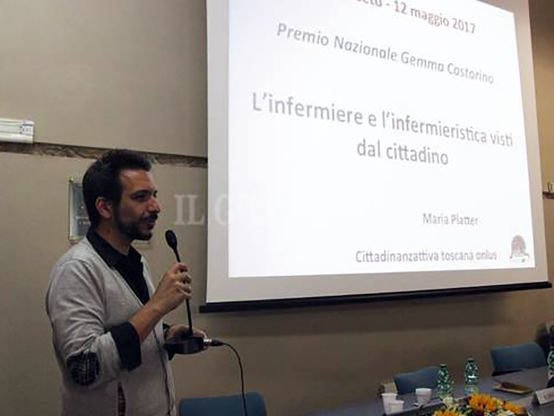 Nicola Draoli, presidente Ordine Infermieri Grossetto e membro del Comitato Centrale della FNOPI.