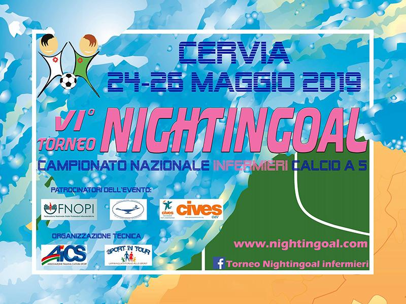 Nightingoal 2019: torneo nazionale Calcio a 5 per Infermieri e Studenti Infermieri.