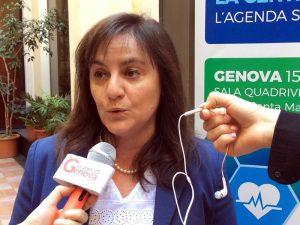 Sonia Viale, assessore regionale alla Sanità in Liguria.