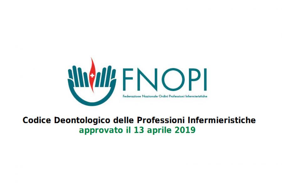 Codice deontologico Infermieri: testo 2019