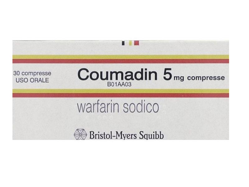 Coumadin: indicazioni, avvertenze e dieta del Warfarin