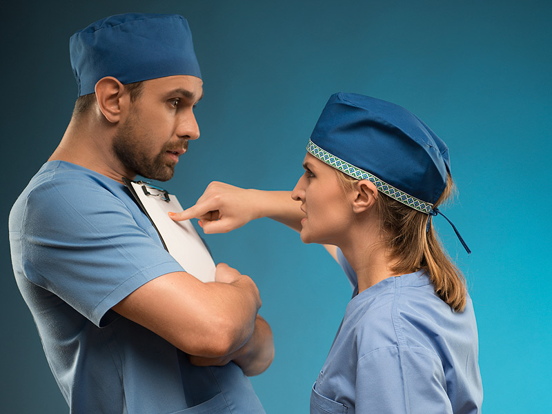 Infermieri: come gestire un Medico arrabbiato? Ecco 8 strategie utili.