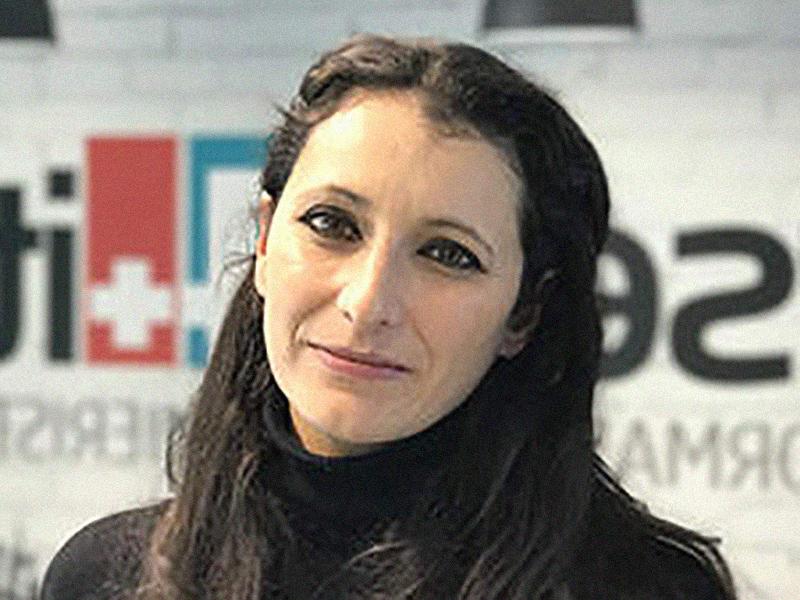Leila Ben Salah, giornalista professionista, allontanata da Nurse24.it perché in contrasto con i soci fittizi italiani.