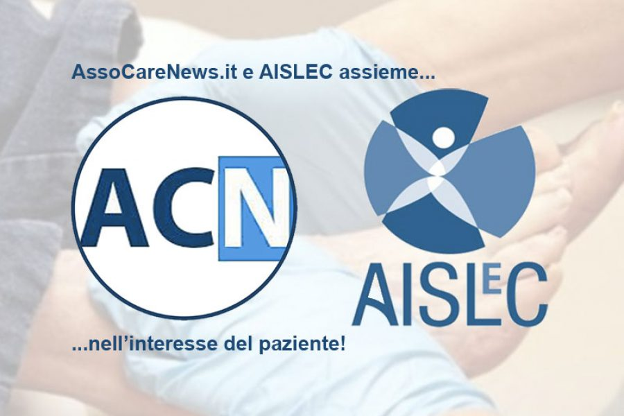 AssoCareNews.it e AISLeC assieme nell'interesse del Paziente. Accordo di collaborazione.