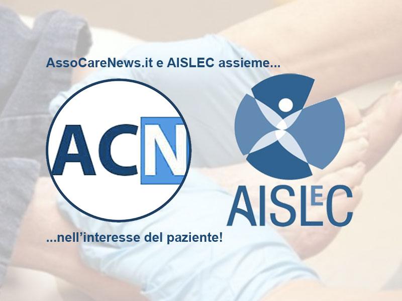 AssoCareNews.it e AISLeC assieme nell'interesse del Paziente. Lotta alle lesioni cutanee.