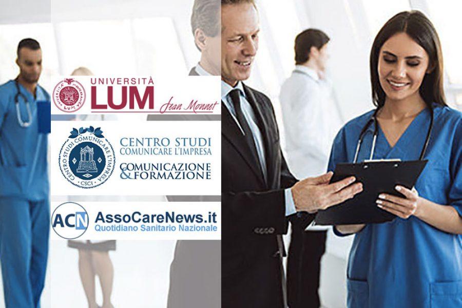 Master I e II livello per Infermieri e Professionisti Sanitari. Università LUM Jean Monnet.
