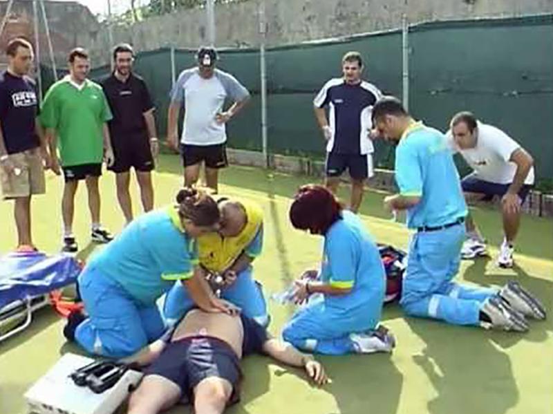 Infermieri per lo sport e per la salute: studio su educazione sanitaria e prevenzione morti improvvise.