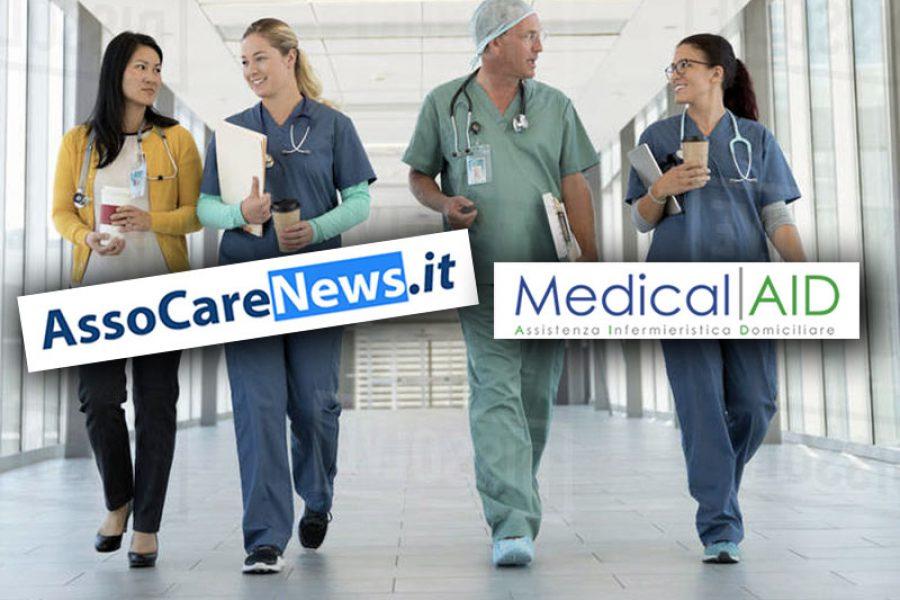 AssoCareNews.it e Medical AID assieme per il benessere degli utenti del SSN.