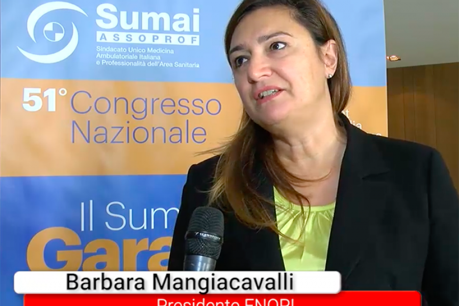 Barbara Mangiacavalli, presidente FNOPI