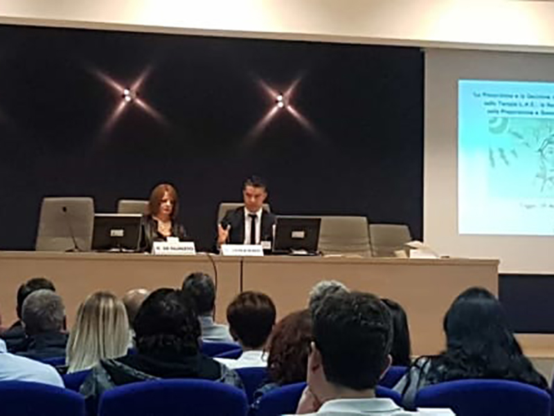 L'intervento del Dott. Giulio Ianzano, Infermiere e Docente Universitario originario di San Marco in Lamis (FG).