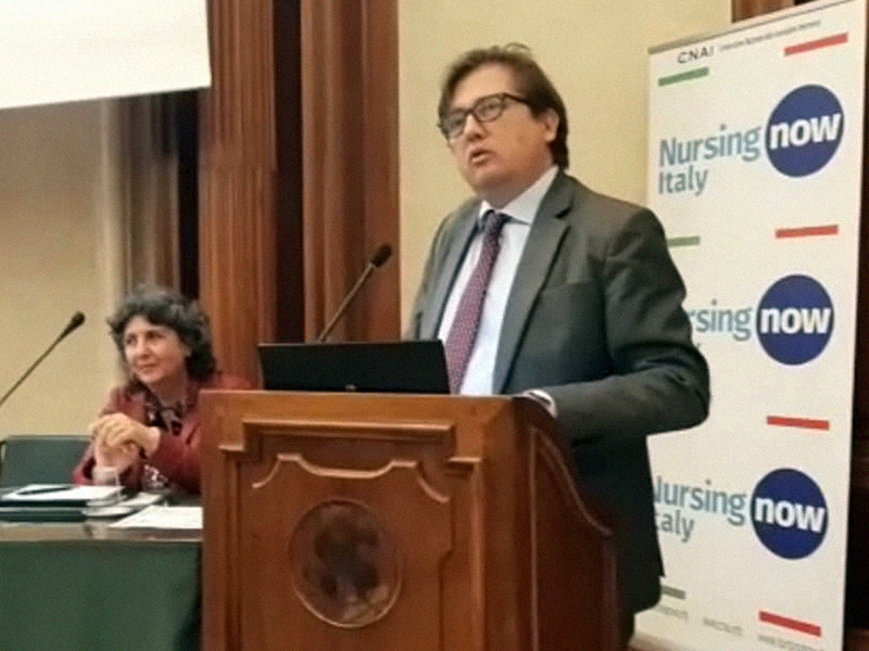 Sileri (Ministero Salute): consolidare rapporto tra Medici e Infermieri nell'interesse del Paziente.