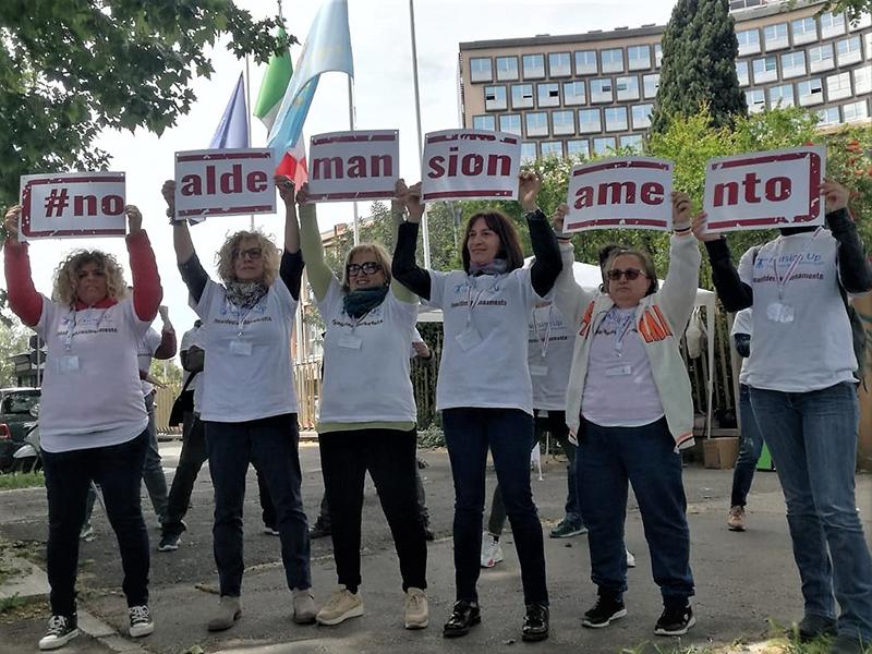 Nursing Up: Presidi #noaldemansionamento degli infermieri nelle Regioni.