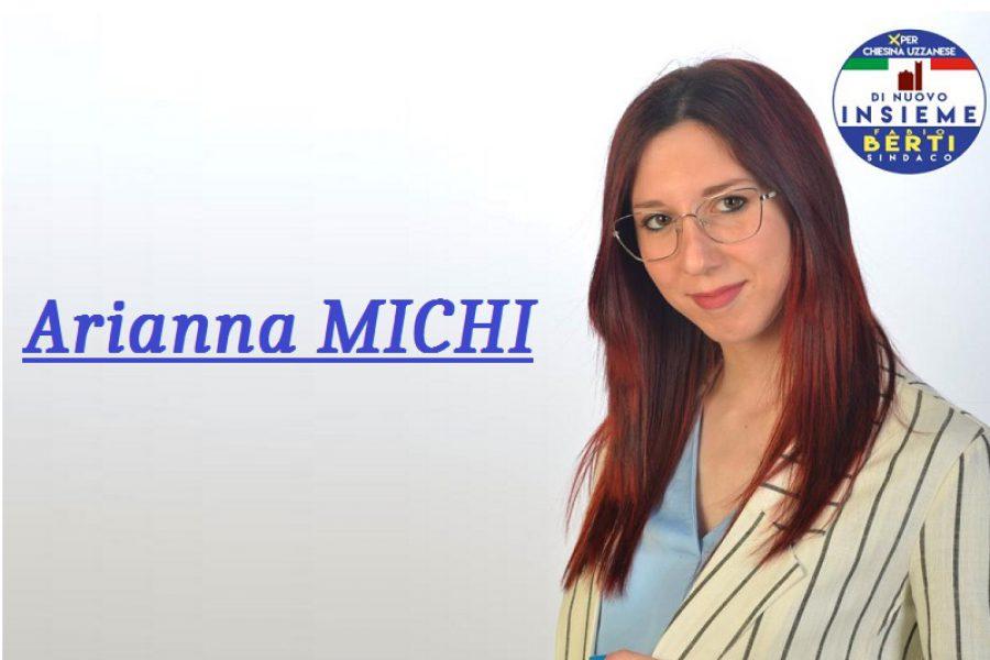 Arianna Michi: un'infermiera per il comune!