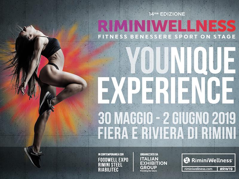 RiminiWellness 2019: un'esposizione di energia unica, cucita sull'esperienza personale.