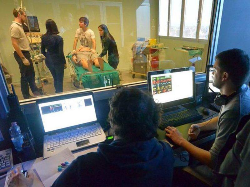 Efficacia e gradimento attività di simulazioni in emergenza per studenti del Corso di Laurea in Infermieristica.