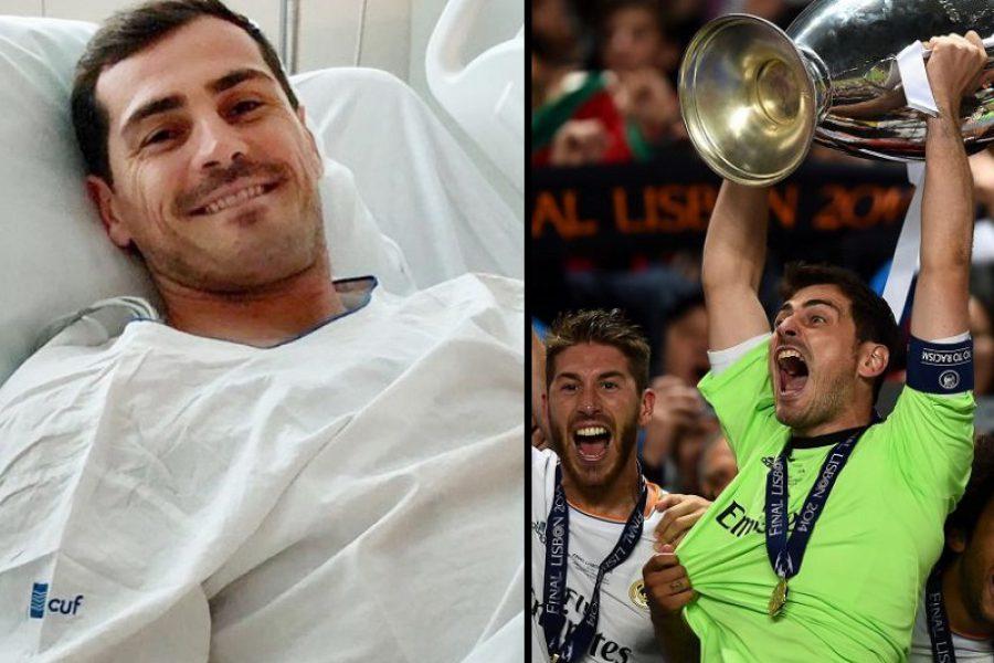 Iker Casillas: vita salva solo grazie a Infermieri e medici!