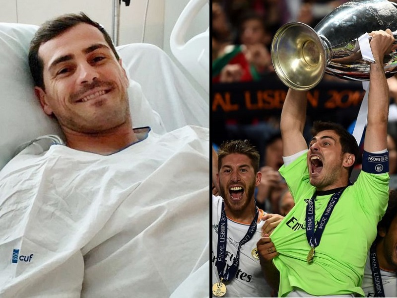 Infarto Iker Casillas: Infermieri e Medici gli salvano la vita!