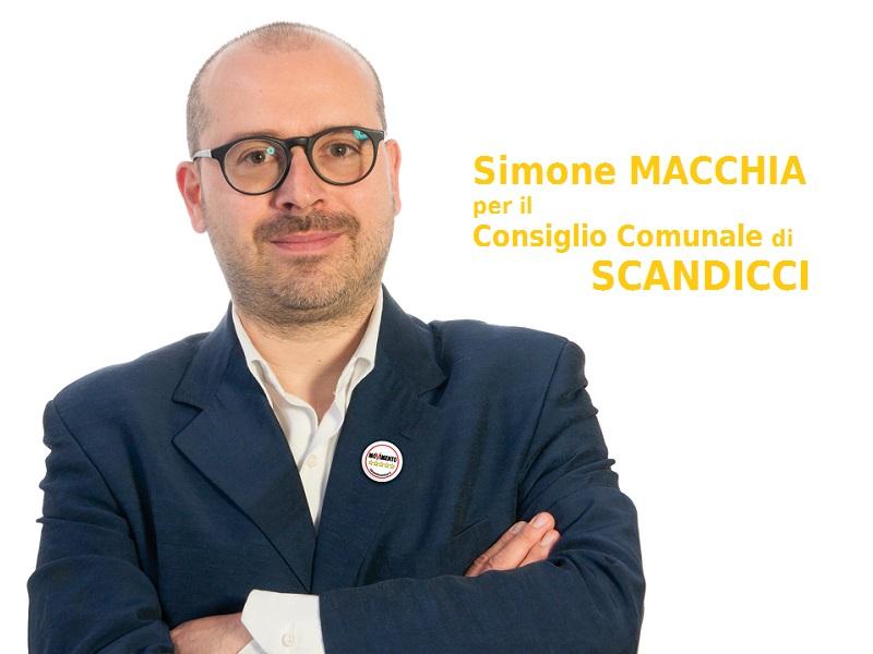 Elezioni Scandicci 2019: vota Simone Macchia al comune!
