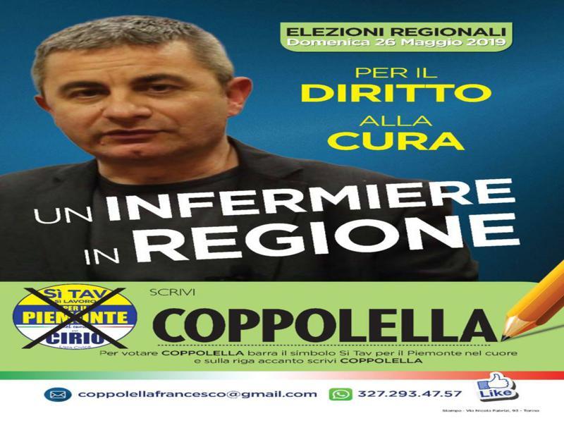 Francesco Coppolella, un infermiere per il Piemonte!