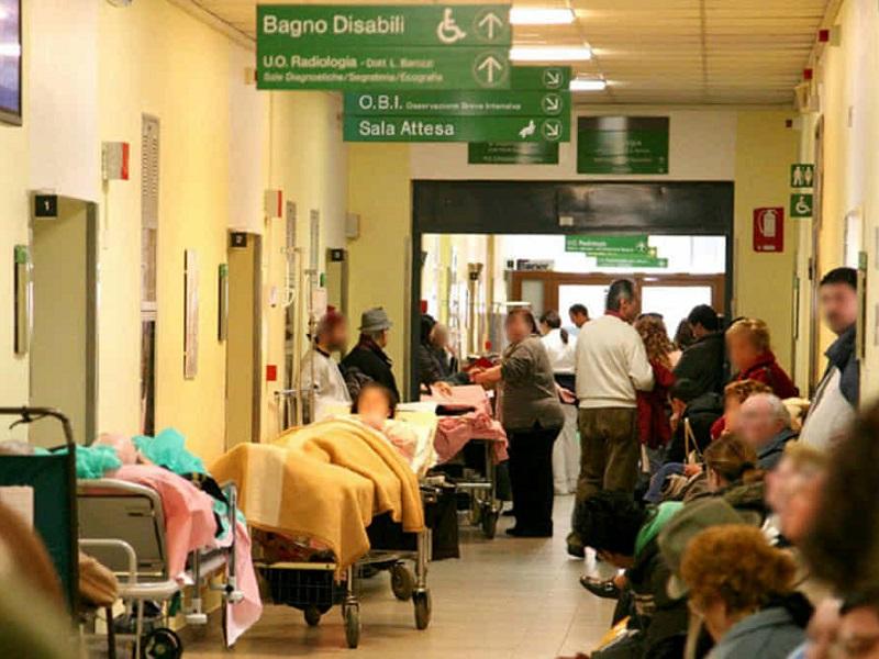 Caso choc: in taxi presso altro ospedale per essere visitati!