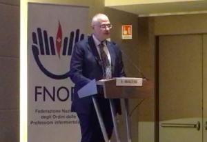 L'intervento di chiusura di Edoardo Manzoni, Infermiere Dirigente e Filosofo.