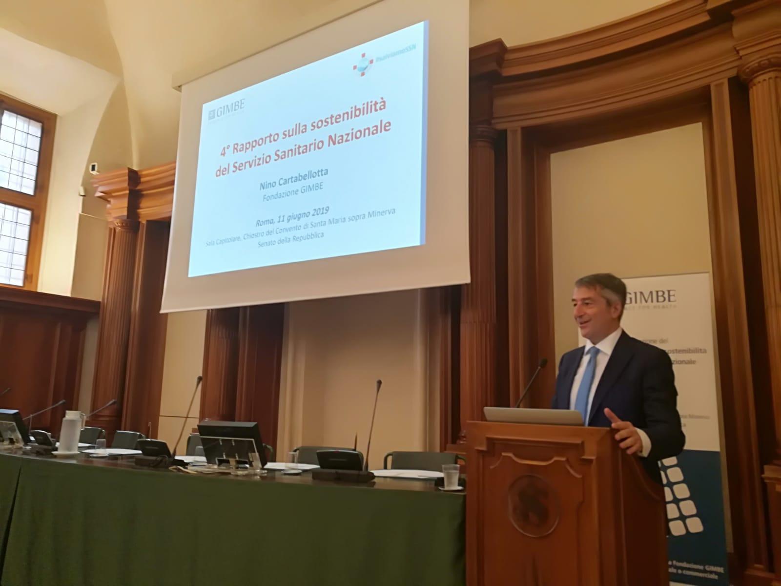 4° Rapporto GIMBE su sostenibilità Servizio Sanitario Nazionale.