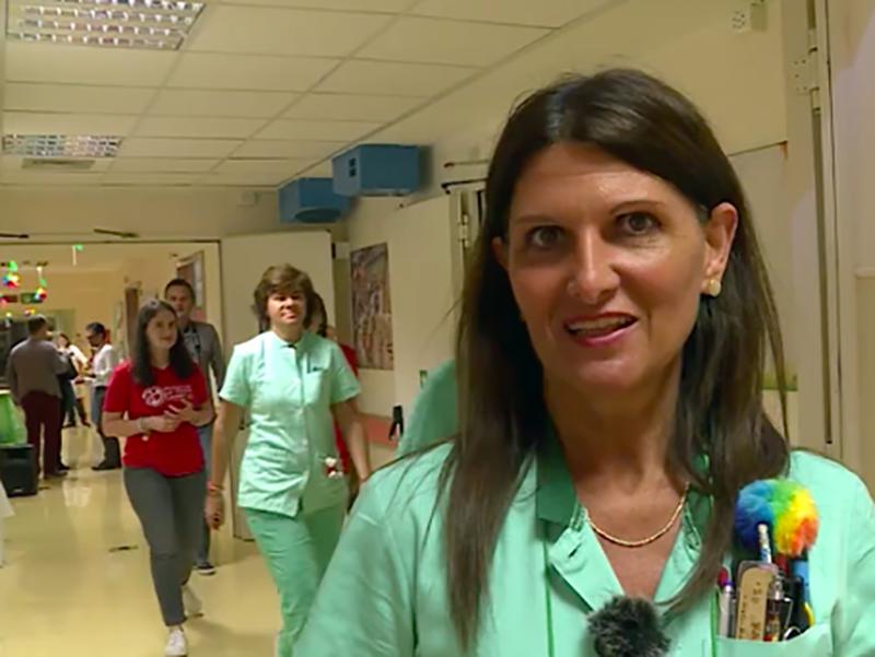 Paola Di Rocco, Coordinatrice Infermiera