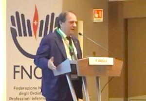 Filippo Anelli, presidente dei medici chirurghi e degli odontoiatri (FNOMCeO) plaude al nuovo Codice Deontologico degli Infermieri ed abbraccia Barbara Mangiacavalli (FNOPI).