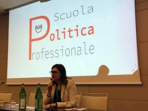 La presidente FNOPI Barbara Mangiacavalli presenta la Scuola di Politica Professionale dei presidenti e dirigenti OPI.