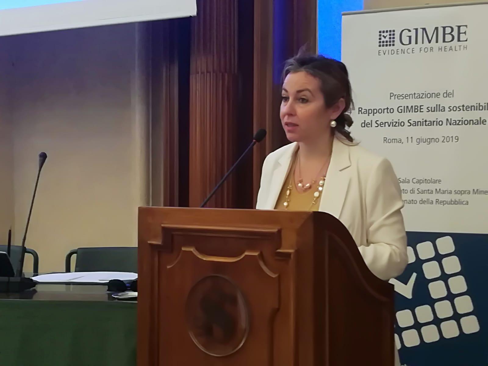 Giulia Grillo, GIMBE