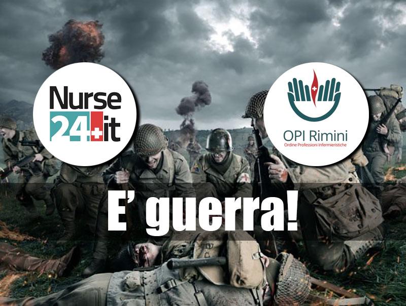 Nurse24 all'assalto dell'Ordine degli Infermieri di Rimini. Ecco i retroscena della querelle e la risposta OPI.