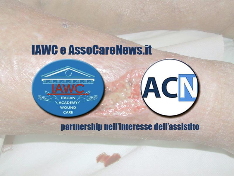 Accordo di partnership tra Accademia IAWC e AssoCareNews.it: le lesioni cutanee hanno vita breve!