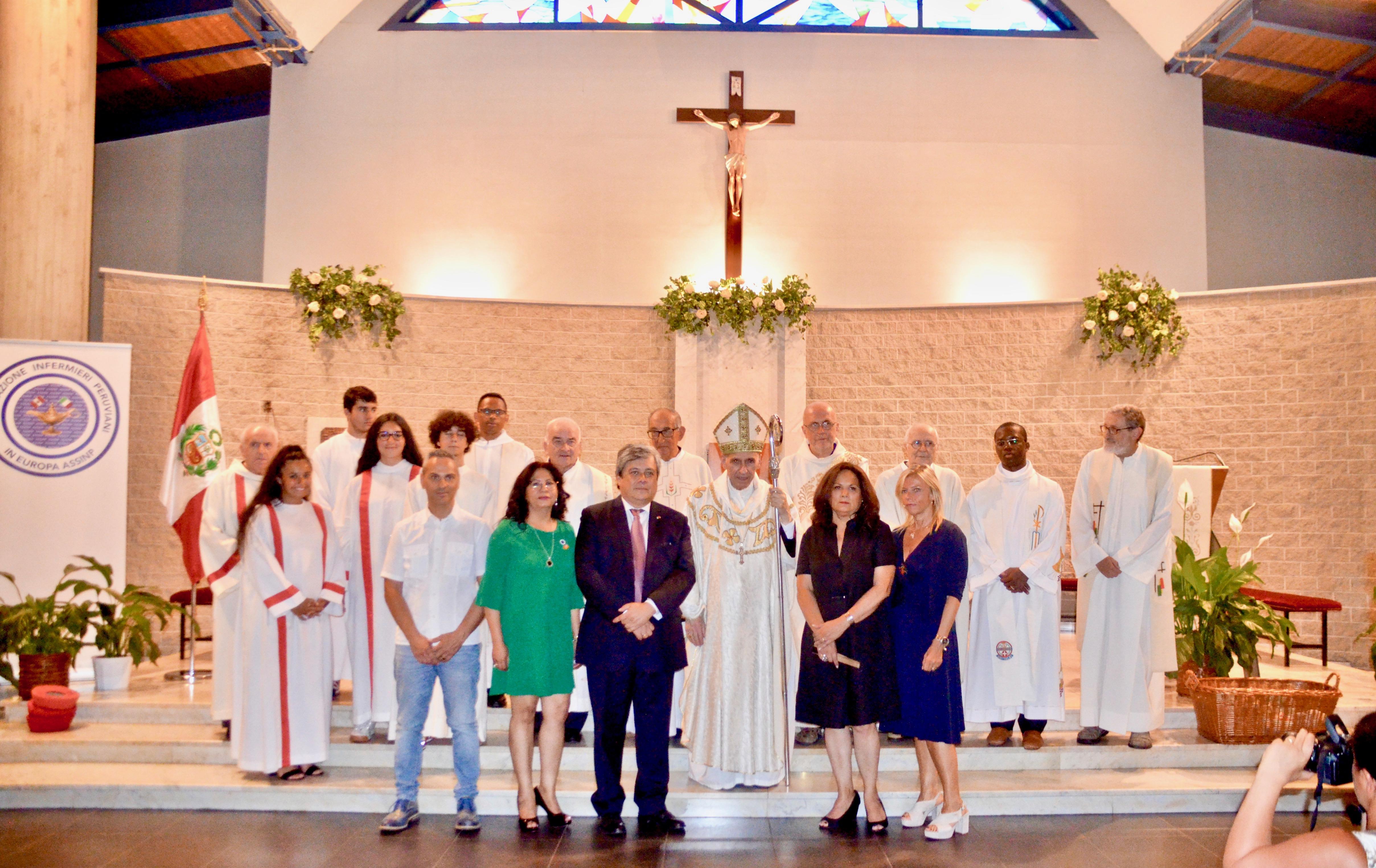Infermieri Peruviani: a Torino si festeggia la Santa Patrona. Iniziativa dell'OPI.