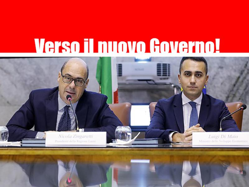 Nuovo Governo: Zingaretti e Di Maio pronti all'accordo. Forse si va verso il Conte Bis. Interni al PD.