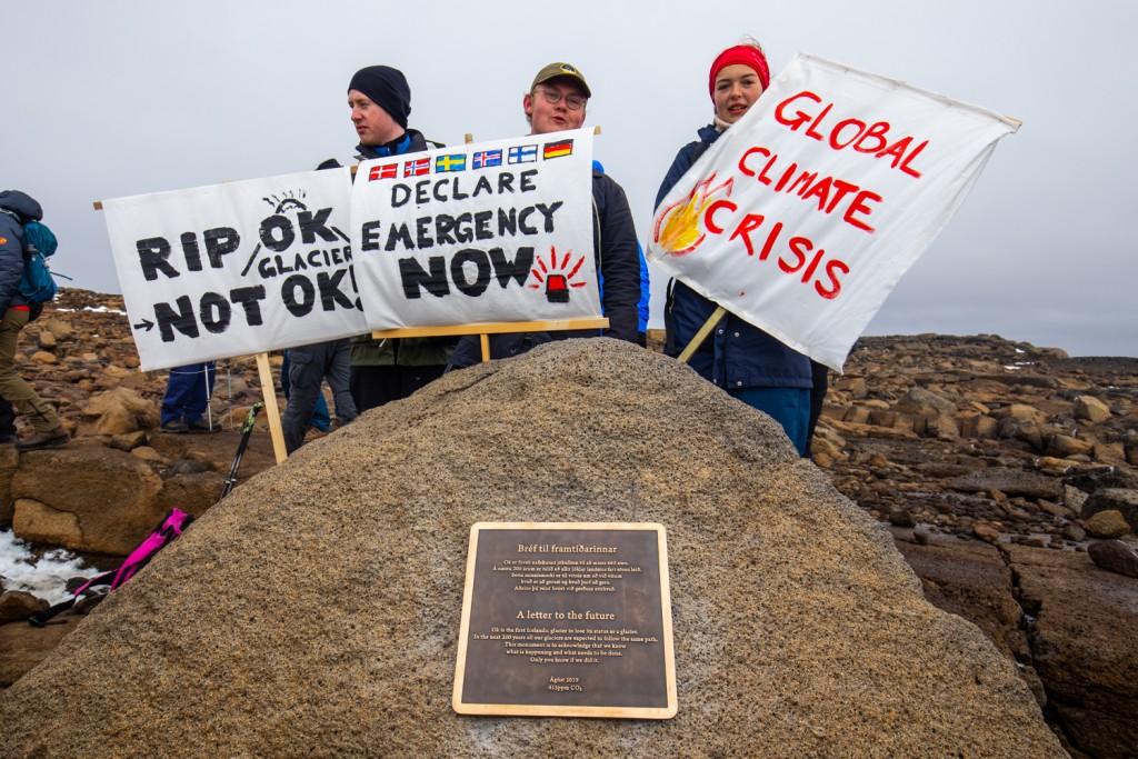 Islanda: Primo Ministro al funerale per il ghiacciaio scomparso